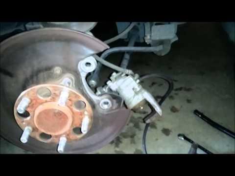 Honda Accord 8th generation 2008-2012 Rear brake pad replacement