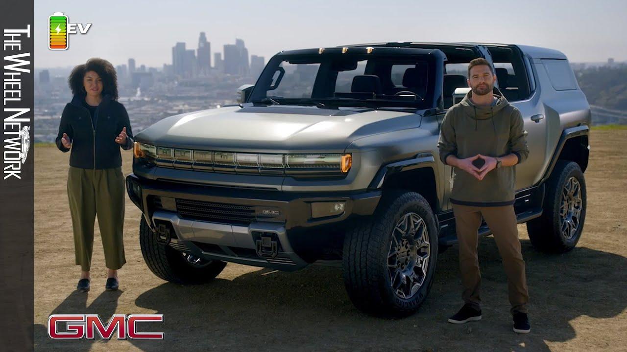 2024 GMC Hummer EV SUV Reveal