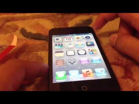 No jailbreak how to get battery percentage on iPod touch 4G