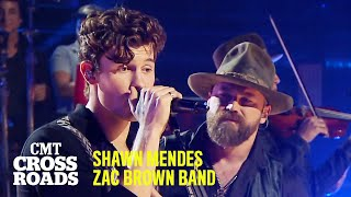 Zac Brown Band \u0026 Shawn Mendes Perform 'Colder Weather' | CMT Crossroads