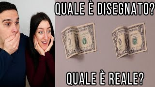 INDOVINA SE È REALE O DISEGNATO CHALLENGE !!!!