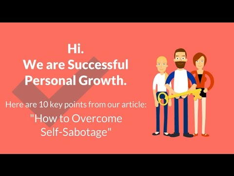 How to Overcome Self-Sabotage | Overcoming Self-Sabotage | Overcoming Self-Destruction