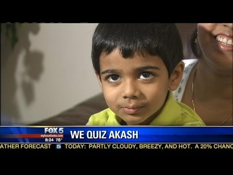 Akash: a 'profoundly gifted' child