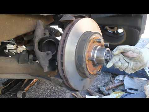 Suburban Front Brake Pads & Rotors & Wheel Bearings Replacement