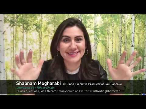 Character Day Global Q&A w/ Shabnam Mogharabi, interviewed by Tiffany Shlain
