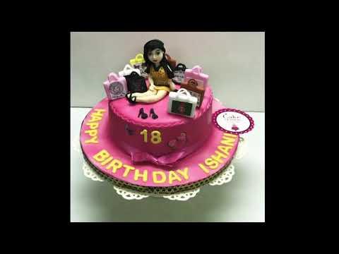 Born To Shop Cake Delhi | Shopaholic Cake Delhi | Online Designer Cake Delivery Delhi , Delhi NCR