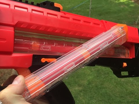 Can the Nerf Rival Zeus fire Mega Darts?  Yes It Can!