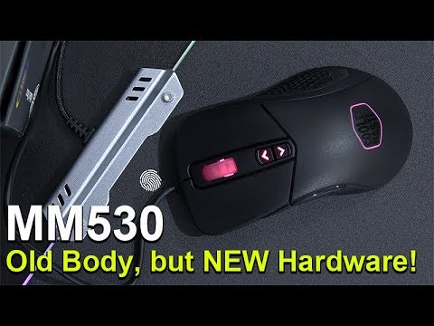 Old Body, but NEW Hardware! -- Cooler Master MasterMouse MM530