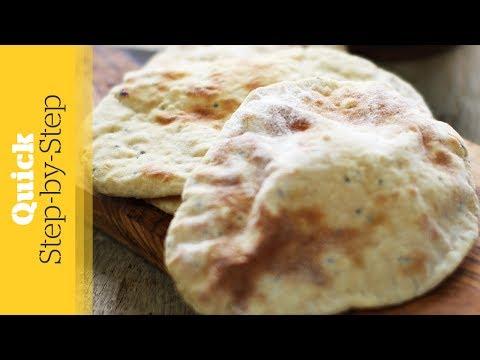 Peshwari Naan Bread Recipe