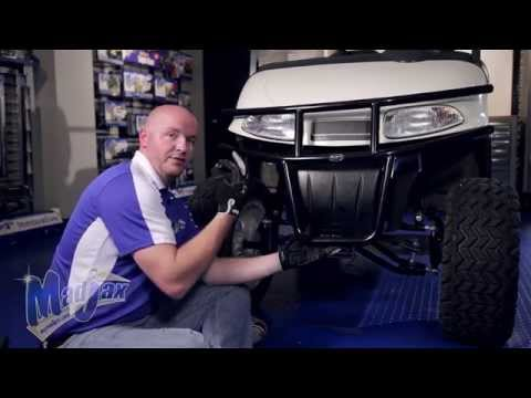 Brushguard will fit  *E-Z-GO® *RXV® | How to Install Video | Madjax® Golf Cart Accessories