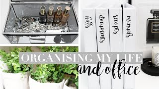 Organizing My Life - DIY Office Storage