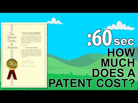 How Much Does a Patent Cost?