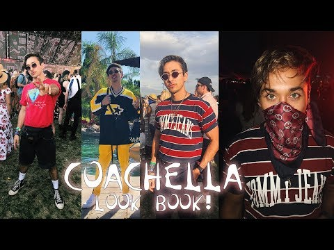 MY Coachella OUTFITS! Outfits for MEN! (LIZA KOSHY IS IN THIS VLOG)