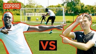 Is Usain Bolt Good Enough To Be A Pro Footballer? | Timbsy vs the World
