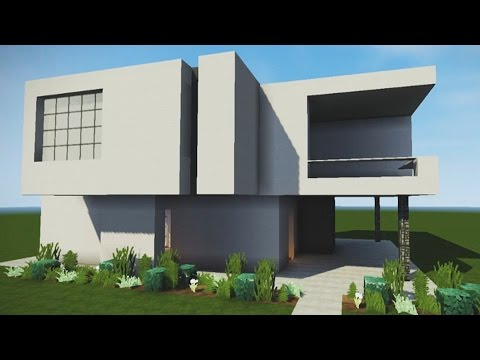 How to Build an Epic Modern House in Minecraft (Easy PC/Xbox Tutorial)
