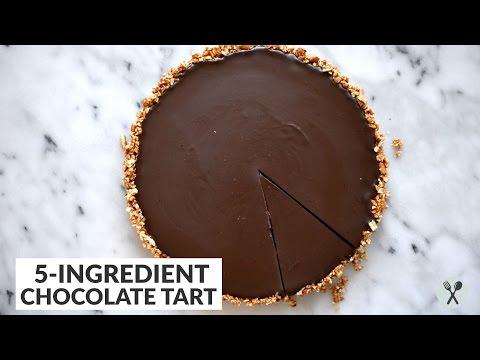 Five-Ingredient Chocolate Tart (Gluten-Free)