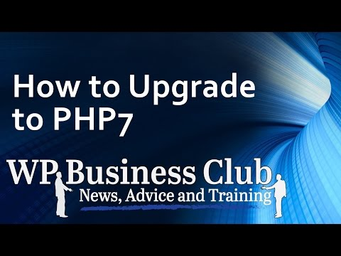 upgrade your Wordpress sites to php 7