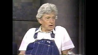 Walter Swan, 1-Book Store Owner, on Late Night, June 22, 1990