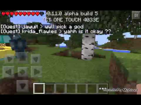 Mcpe 0.11.0 alpha build 5 server join now!