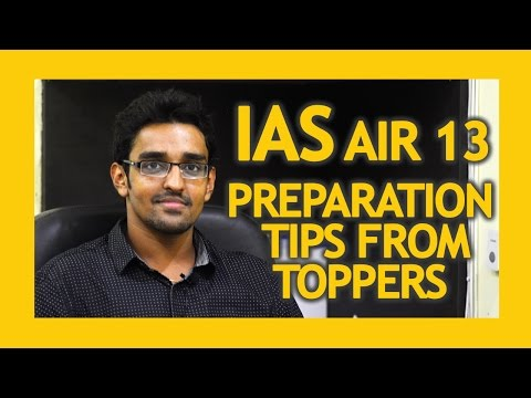 IAS topper interview 2017 | IAS exam syllabus | question and answer | AIR 13