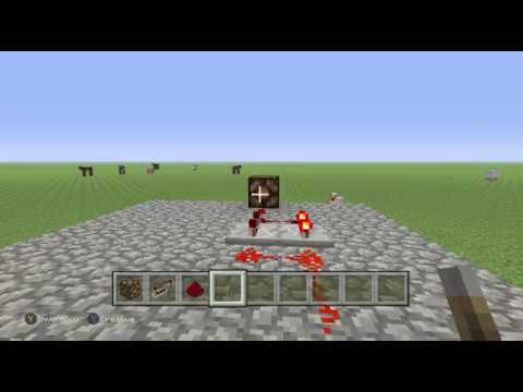 how to make a redstone lamp flicker
