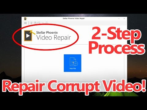 How To Repair Corrupted or Damaged Videos using this Free Software!