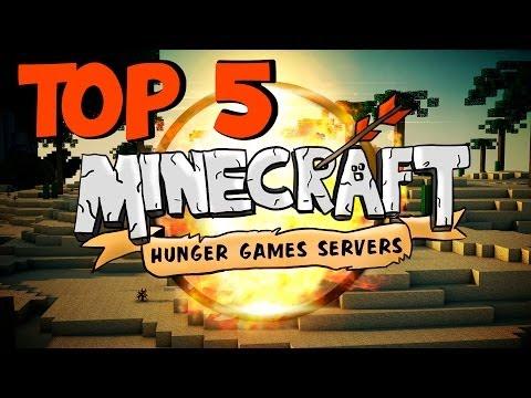 Top 5 Best Minecraft Hunger Games Servers (1.8.8) - 2015