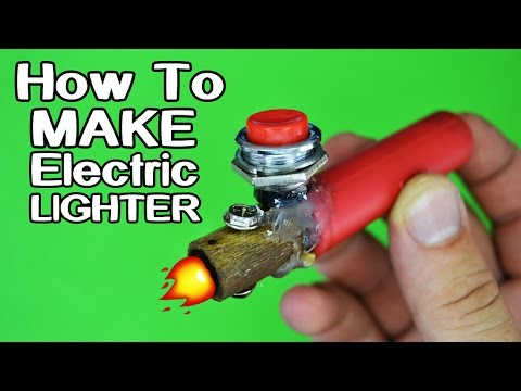 How To Make Electric Lighter!