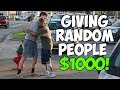 Giving Homeless People 1000 Not Clickbait
