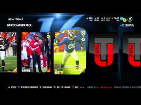 Madden 16 UL Pack! Gamechanger for Woodson?!