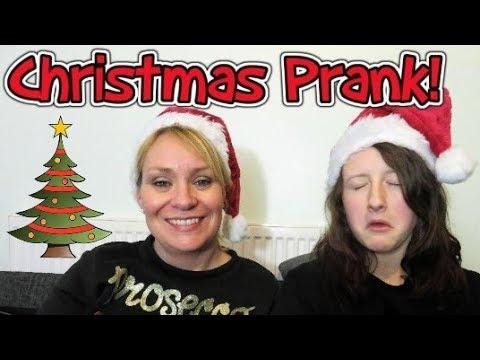 Christmas Prank! Prankster kids!