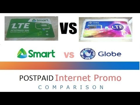 New SpeedTest 2018 Globe Postpaid VS Smart Postpaid (New Plan and Same Speed Plan)