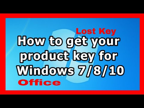 how to get lost windows or office product keys 2018