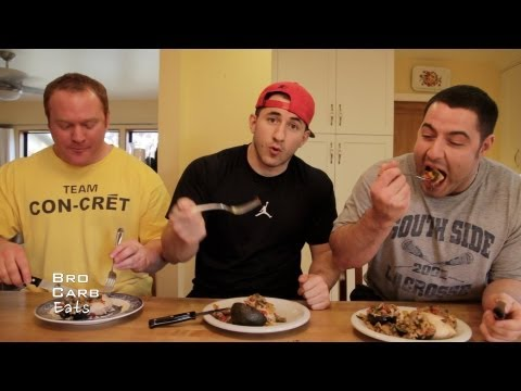 Crab-stuffed Chicken Breasts (with Bacon)   Bro Carb Eats   SuperTraining.TV
