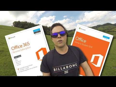Should I buy Office 365 or Office 2016?