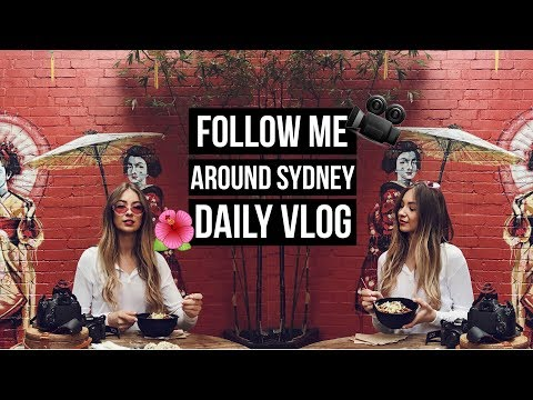 Follow me around Sydney | A DAY IN THE LIFE with RIMMEL London