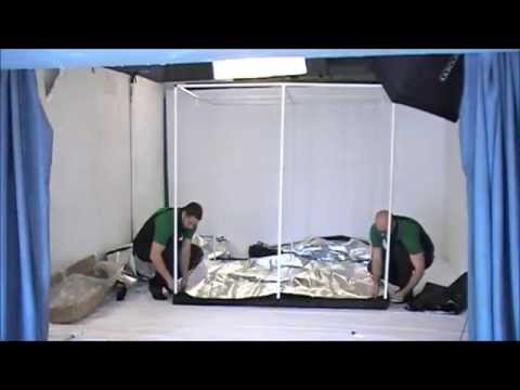 OLD_How to Assemble the Green-Qube 200 [GQ200] Grow Tent (2012)