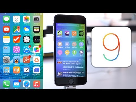 iOS 9 Beta Installation & Overview ( iPhone, iPod Touch, iPad )