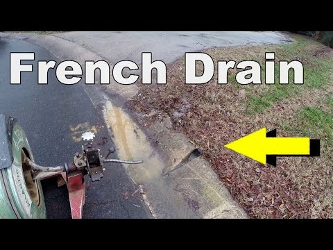 How To  - Maintaining Your French Drain and Sump Puump