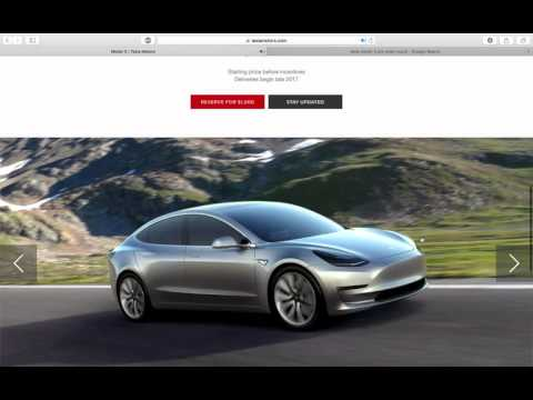 What is the Tesla Model 3