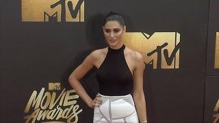 Nargis Fakhri #MTVMovieAwards Red Carpet