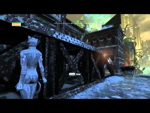 Batman Arkham City Catwoman Gameplay