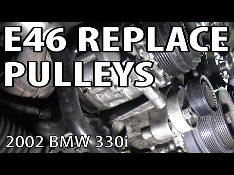 BMW E46 Pulley Replacement