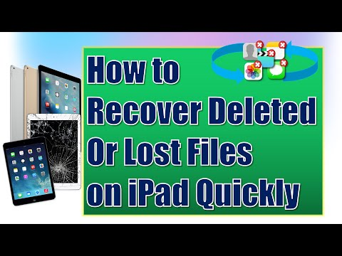 How to Recover Deleted Photos/Videos/Notes/Messages/Files on iPad Air/Mini
