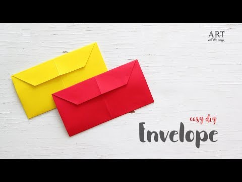 Simple Envelope that you can make in minutes | DIY Craft Ideas