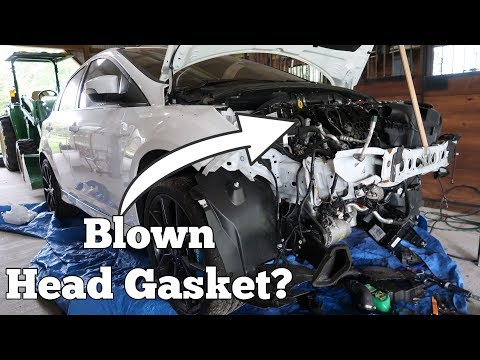 Did My Salvage Ford Focus RS Come with a Blown Head Gasket?