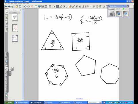 8.1 Find Angle Measures of Polygons.avi