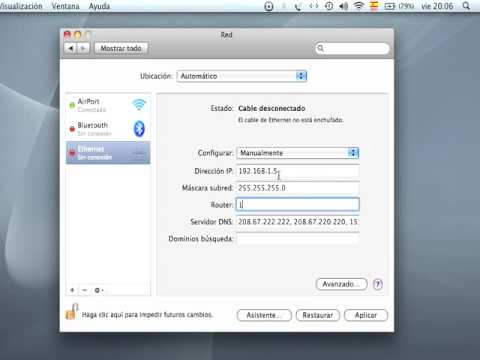 Mac Osx IP Lan.mov