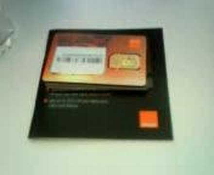 Orange SIM cards