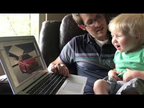 1 year old Nicholas can name every car